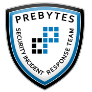 PREBYTES Security Incident Response Team