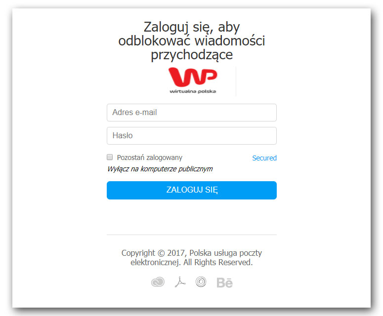 dcb31ee2239bce Phishing na popularne polskie serwisy pocztowe