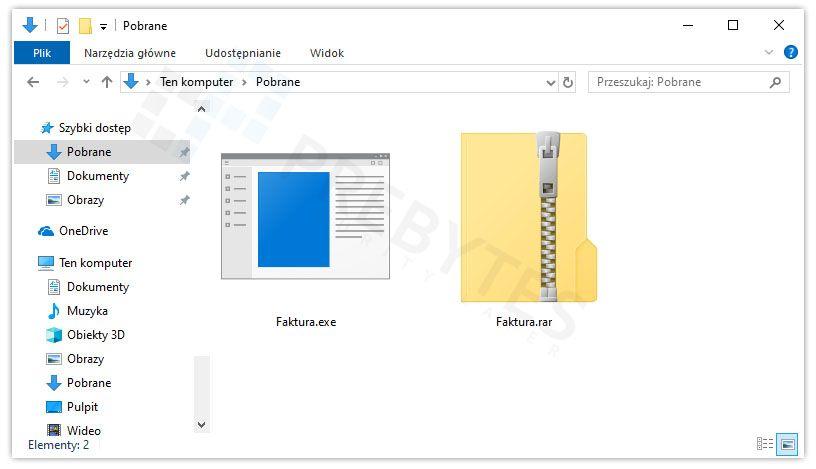 Podglad plików malware GuLoader