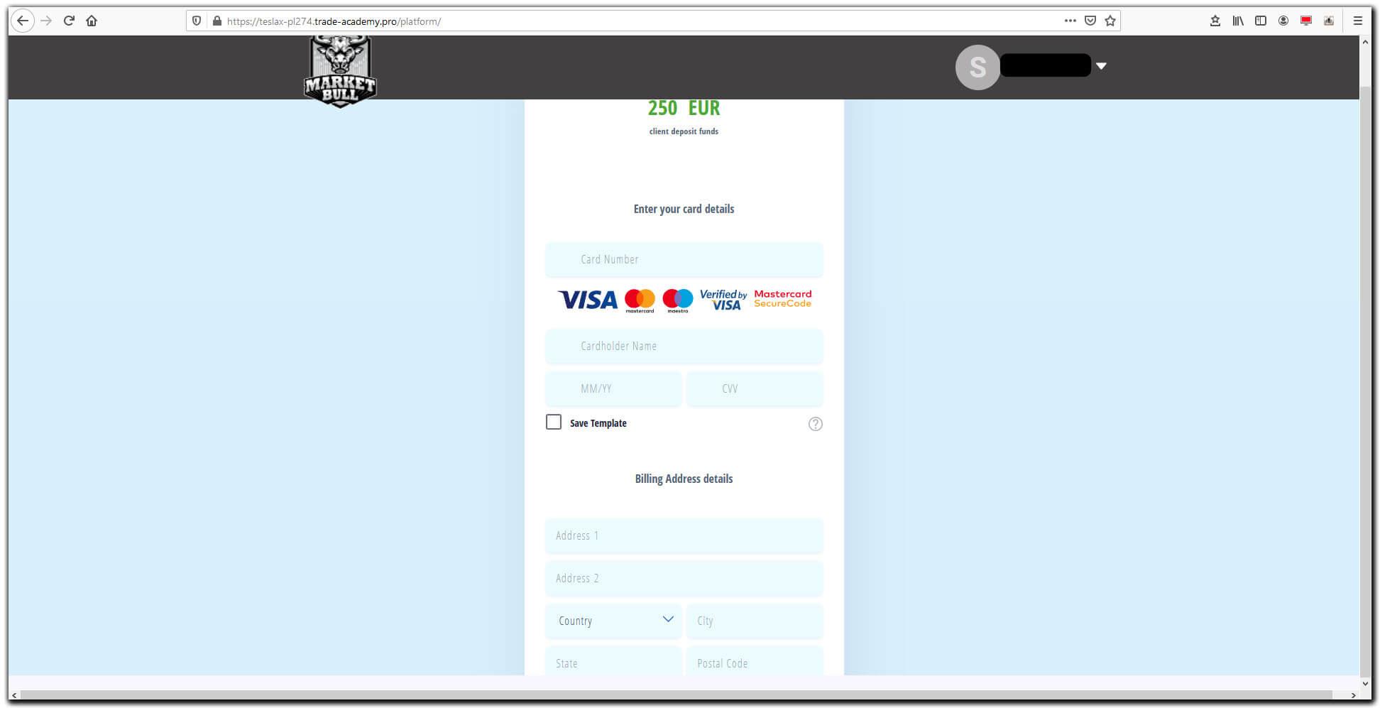 Platforma-inwestycyjna-Market-Bull---wprowadzanie-danych-karty-platnicznej