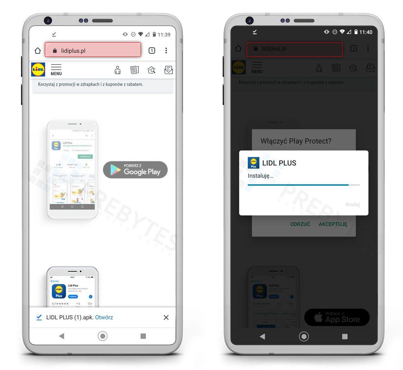 falszywa-aplikacja-Lidl-Plus