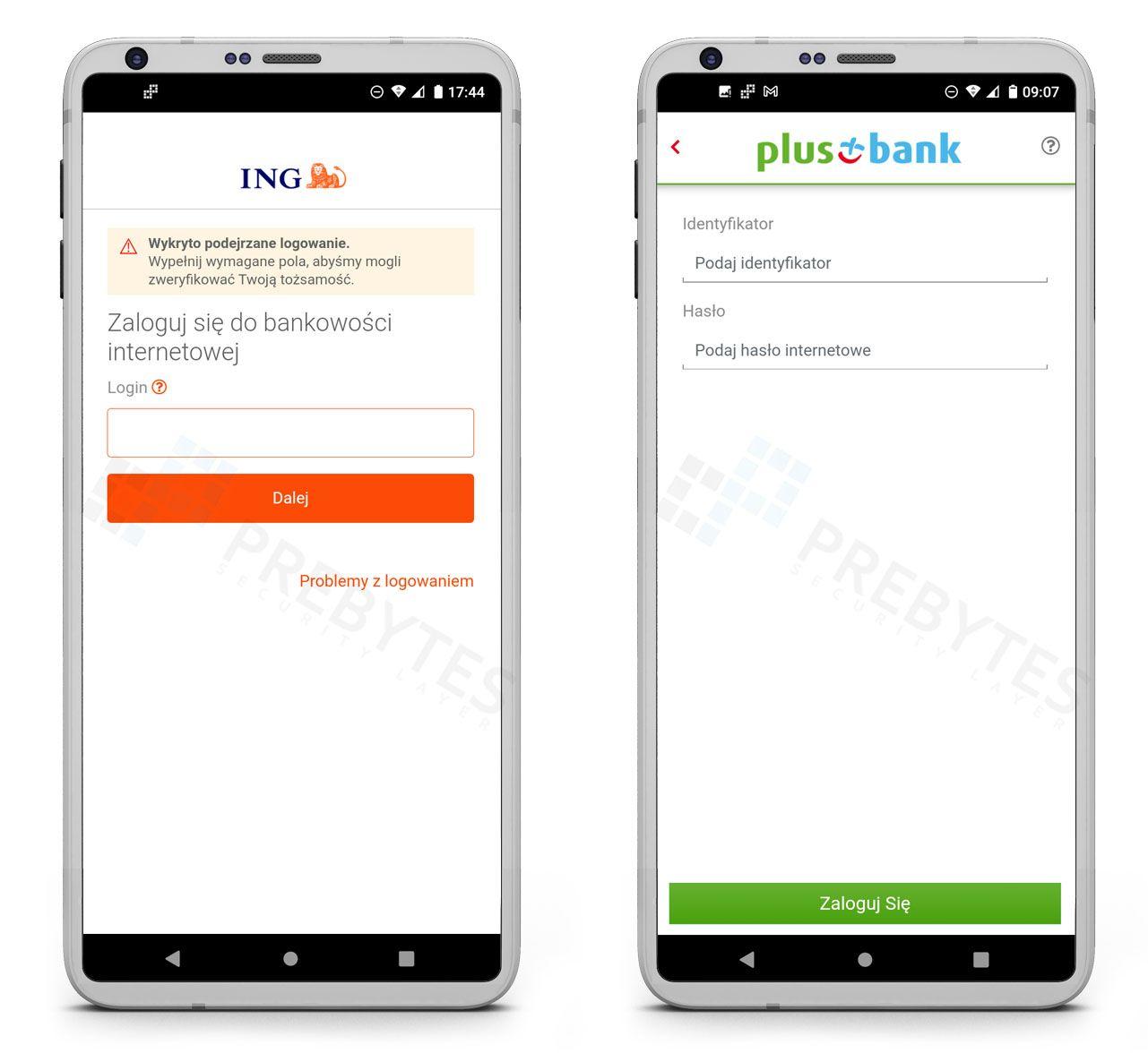 Nakładki na aplikacje bankowości